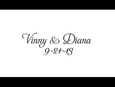 Vinny & Diana 9.21.13